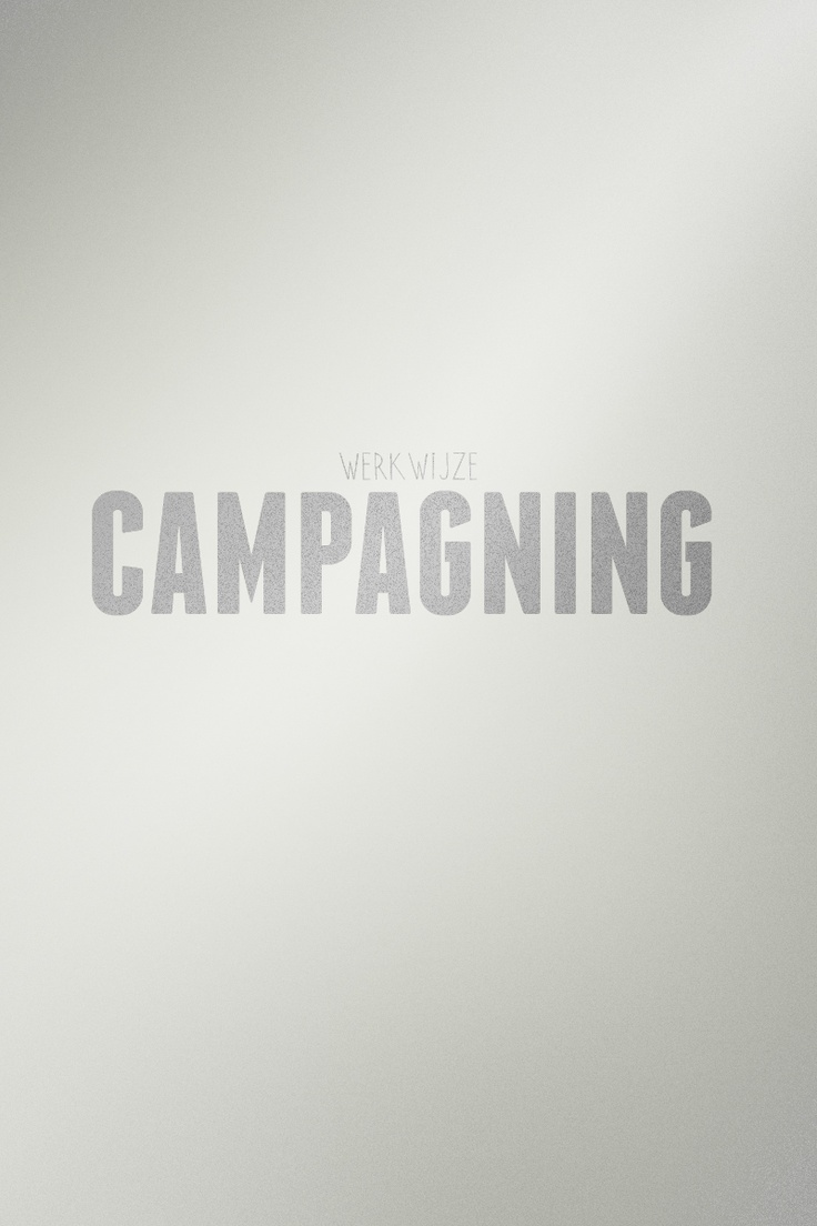 #WERKWIJZE: CAMPAGNING – Bij SUE is de start van de campagne de start van het campagne voeren. Dit impliceert dat je de campagne blijft monitoren, bekijken en het aanscherpen van ideeën waar nodig. Dit doe je samen met de digital marketeer en je creatieve collega's. Op deze manier heb je scherp in de gaten wat werkt en niet werkt en kun je de campagne optimaliseren. Je blijft en voelt je altijd verantwoordelijk om proactief met de campagne bezig te zijn.