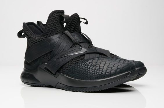 2b2e512cd Nike LeBron Soldier 12 Triple Black Arriving This Weekend The Nike LeBron  Soldier 12 Triple Black
