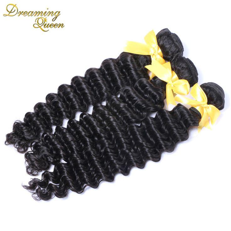 8a Best Quality Brazilian Weave Hair Brazilian Cambodian Virgin Remy Human Hair Deep Wave Double Weft 100 % Unprocessed Hair