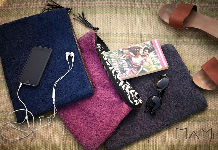 pochette made of terry fabric