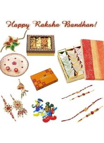 Order for Rakhi with Free Shipping,Courier Delivery Will Take Minimum 4-5 Working Days From The Date of Booking the Order.