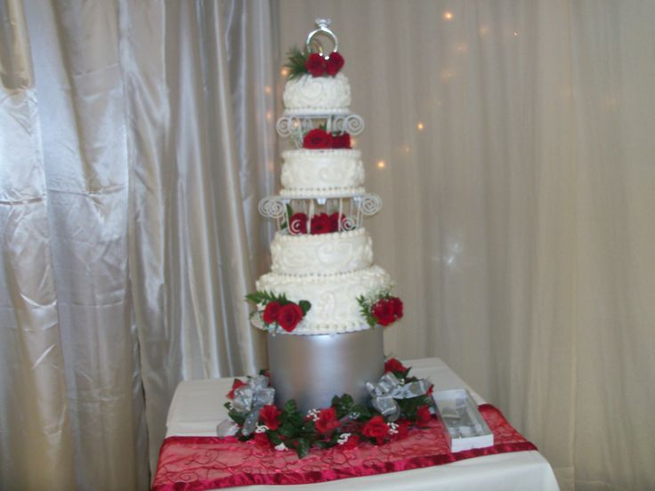 Wedding cake for Brenda & Richie