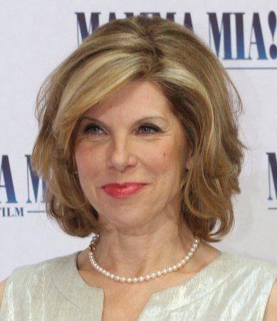 Christine Baranski - great hair