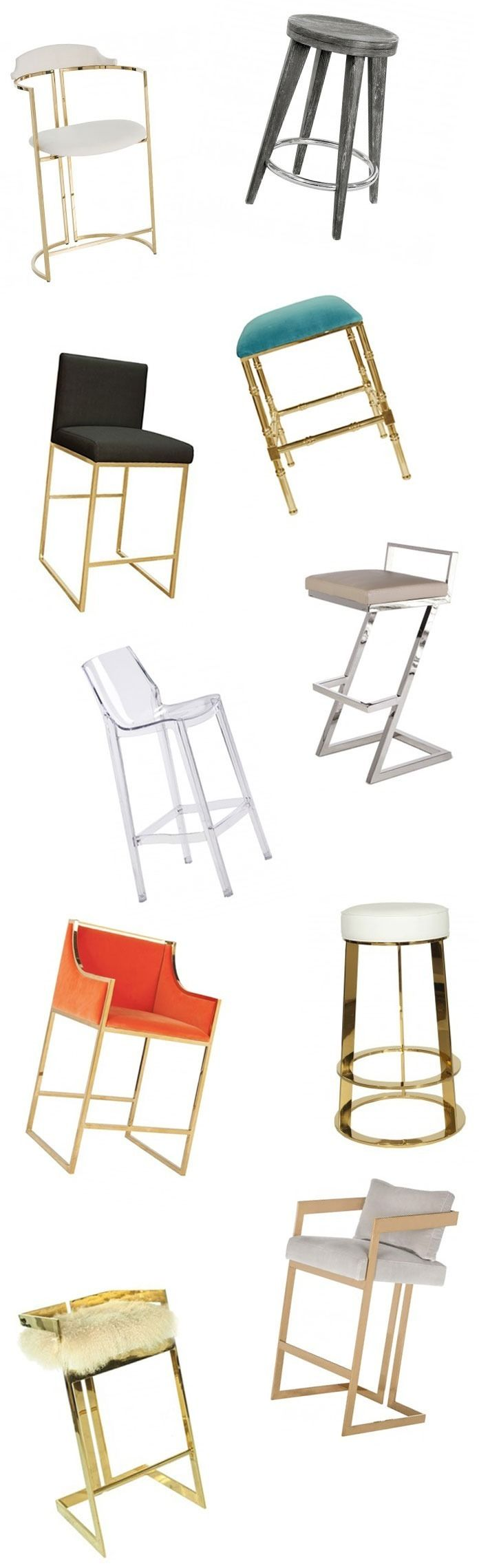 Chic Counter Stools and Barstools - Our Top 10 List | The Well Appointed House Blog: Living the Well Appointed Life