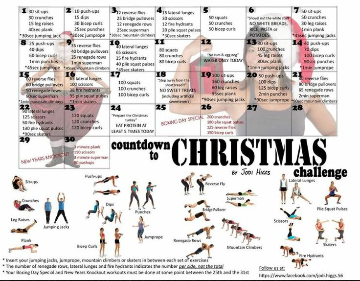 30 Day Countdown to Xmas Challenge - Jodi Higgs FB