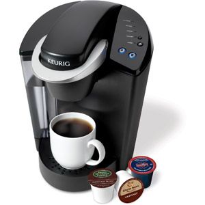 We have one of these at work, now I MUST have one!!Keurig Elite B40 K-Cup Brewing System