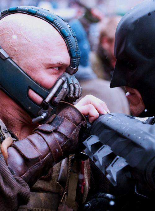I feel like I should say 'still a better love story than twilight' but that's overdone. So I won't. #Batman #Bane #DarkKnightRises