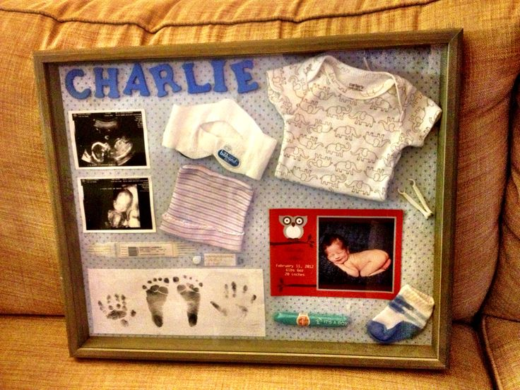 keepsake shadow box to