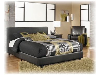 Shop for signature design cal king uph platform bed b234 for Furniture zanesville ohio