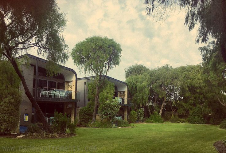 The Aqua Resort, Busselton - villas located right on Geographe Bay set in a beautiful natural surrounding.
