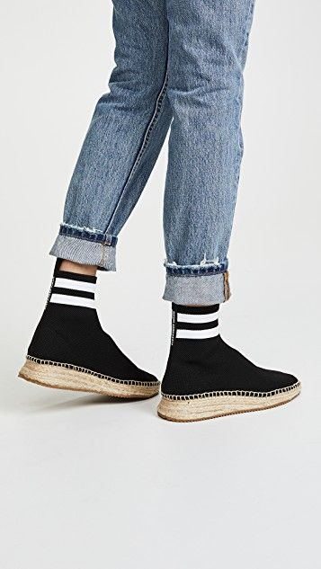 9e74566c33850 Dylan High Knit Espadrille Runners