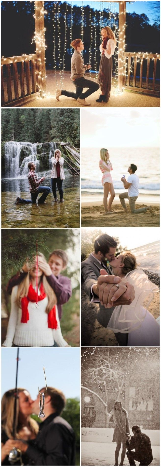 Wedding Photography » 18 Most Romantic Wedding Proposal Photo Ideas! How magical! » ❤️ See more: http://www.weddinginclude.com/2017/04/great-wedding-proposal-photo-ideas-how-magical/