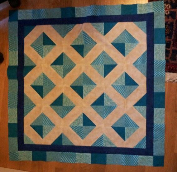 With an accu quilt!