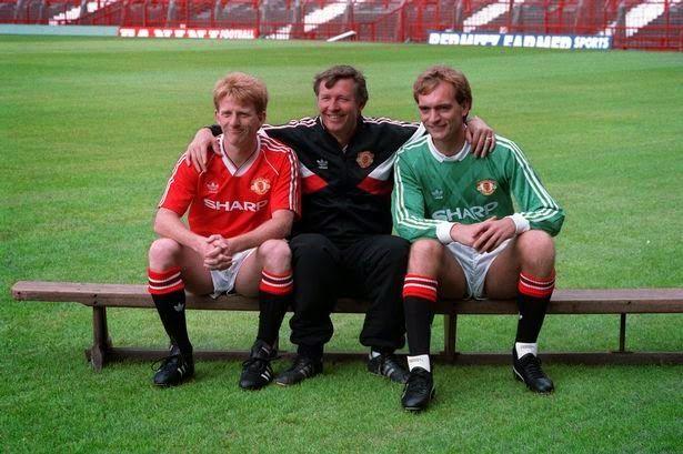 Gordon Strachan, Alex Ferguson, Jim Leighton