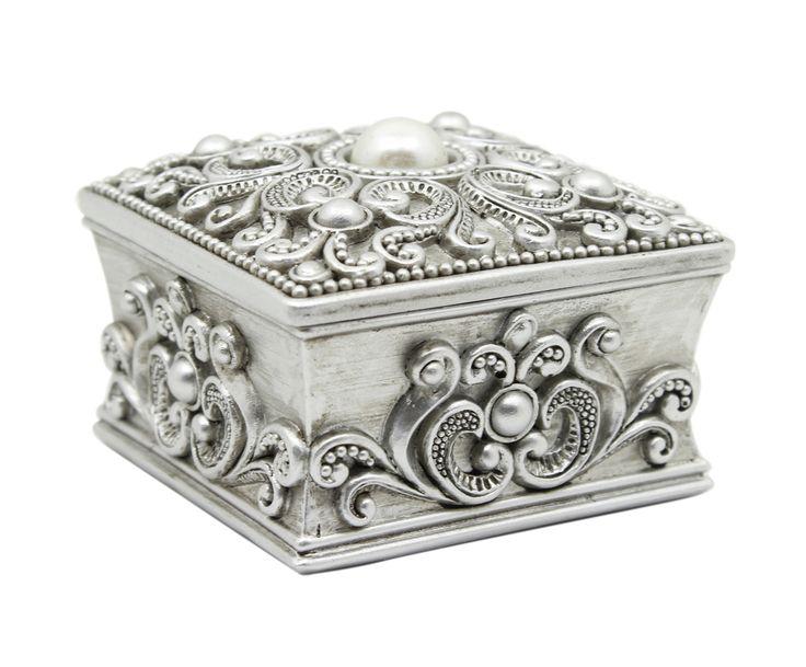 Декоративная коробка для хранения - канифоль - серый - В6хШ8хГ8 | Westwing Интерьер & Дизайн