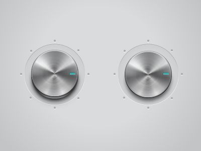 Metallic Button by Pixotico