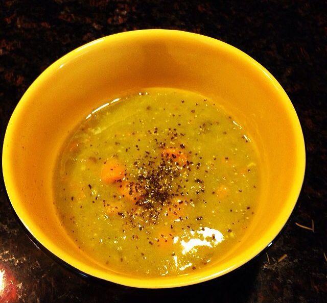 Split pea soup | Run Cook Eat Repeat Paleo