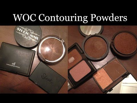 Best Contour Powders for Dark/Brown Skin (WOC) - YouTube                                                                                                                                                                                 More