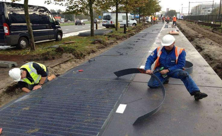 Primeira ciclovia com captação de energia solar do mundo já está em fase de testes