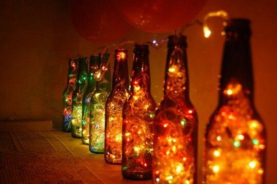 Una forma diferente de iluminar:)