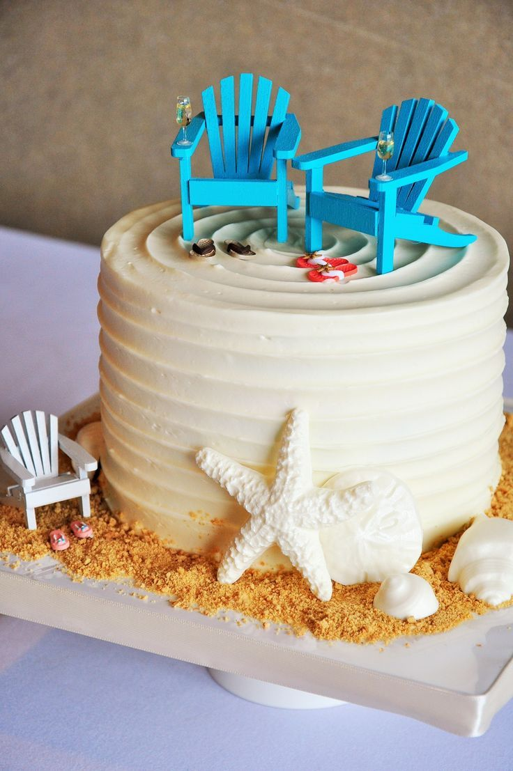 Simple Beach Theme Sand Shells Seaglass Happy Birthday