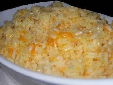 Receita de Arroz com queijo e cenoura - Tudo Gostoso