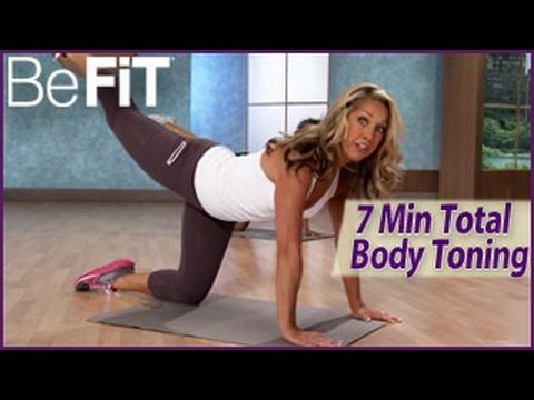 7 Min Total Body Toning Workout: Level 1- Denise Austin - YouTube
