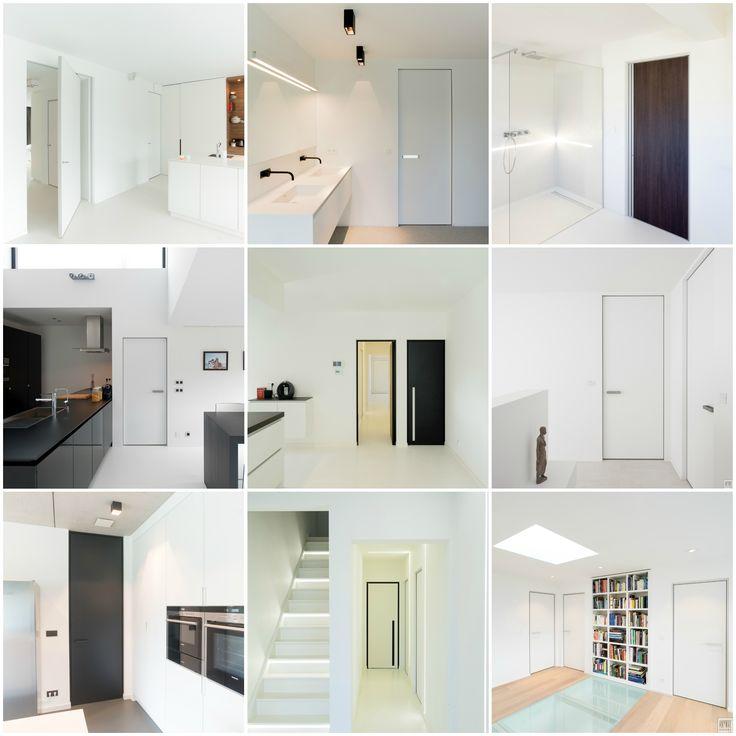 64 beste afbeeldingen over portes int rieures modernes op for Portes interieures design