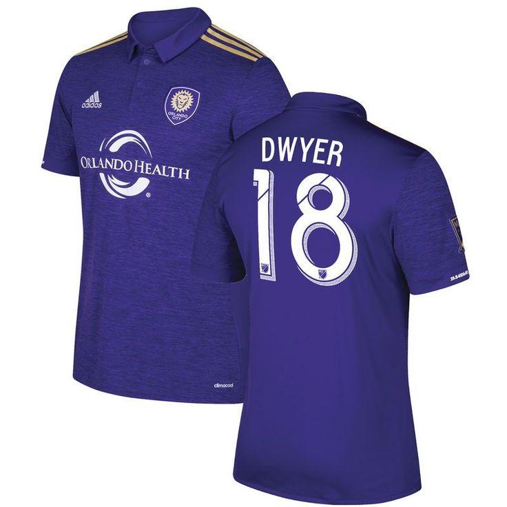Dom Dwyer Orlando City SC adidas 2017 Replica Primary Jersey - Purple
