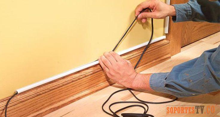 1000 ideas sobre ocultar los cables el ctricos en - Como tapar el gotele sin quitarlo ...