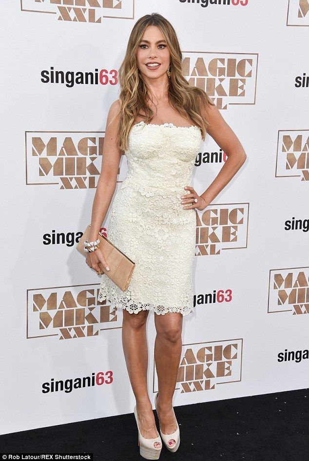 Not so confident after all! The Modern Family star was quick to undermine her appearance d...