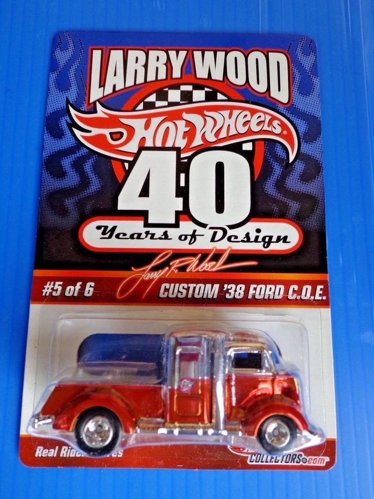 2009 Hot Wheels Red Line Club '38 Ford C.O.E. Real Riders  #01373/05000 #HotWheels