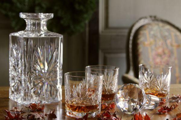 アンティーククリスタルグラス デキャンタ イギリス スコットランド edinburgh エディンバラ