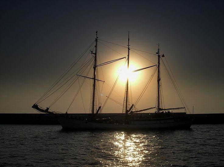 O wschodzie słońca...