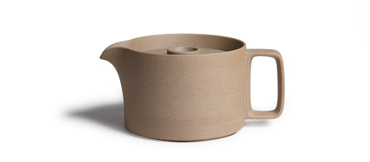 Hasami Porcelain Tea Pot (Tan) - Kaufmann Mercantile