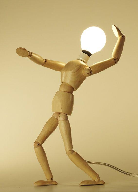 Светильник - человечек