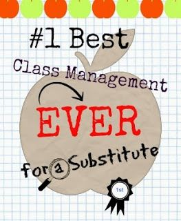 The Happy Handicap: The #1 Best Class Management Ever for a Substitute Teacher in a High School too!