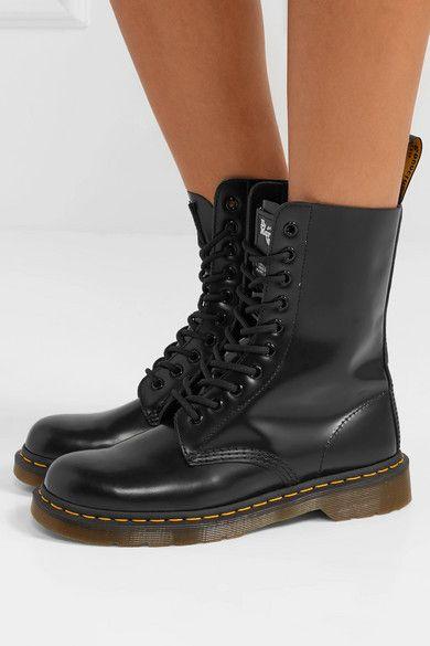 973d3835dec982 Marc Jacobs   + Dr. Martens leather ankle boots   NET-A-PORTER.COM ...