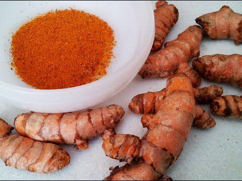▶ How to Grow Turmeric & Make it into Organic Powder Spice - YouTube