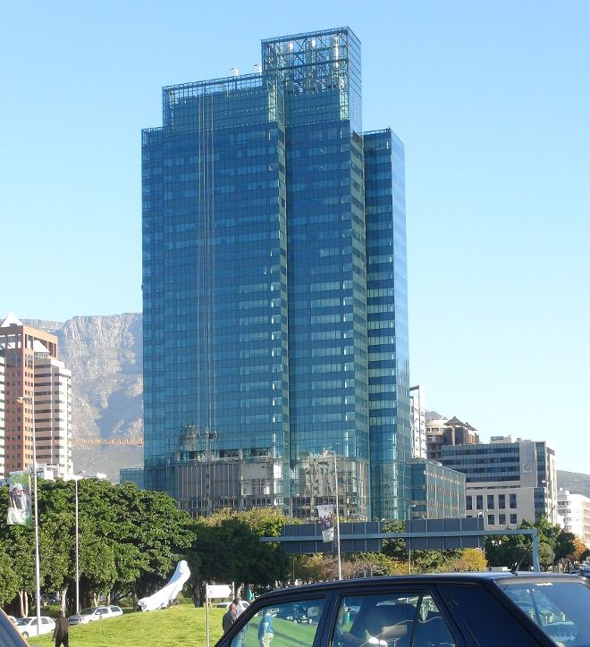 Portside Building in Cape Town - the city's tallest building