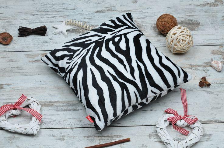 Poduszka dekoracyjna zebra - #PillowsGallery