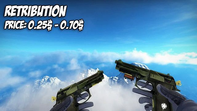 CS-GO  Dual Berretas  All Skins Showcase  Price  Все Скины Dual Berett