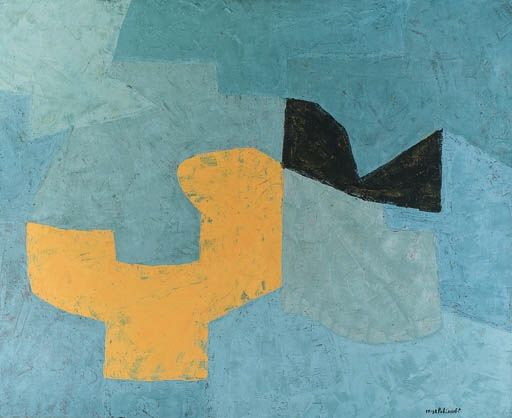 Composition rouge - Serge Poliakoff - WikiPaintings.org