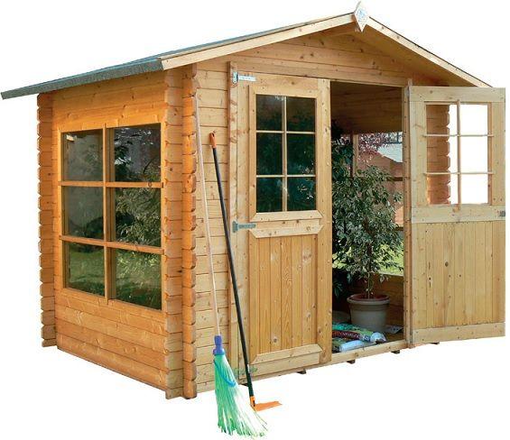 Oltre 25 fantastiche idee su casette da giardino su for Case in legno autorizzazioni
