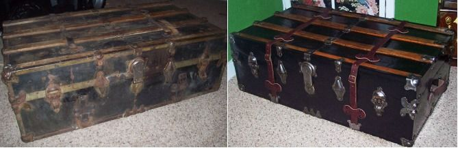 how to clean old out of yout trunk