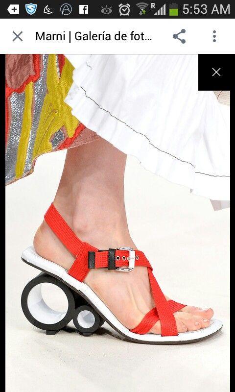 Un poco extraños pero me gustan · Ceramic ShoesCrazy ShoesFashion ...