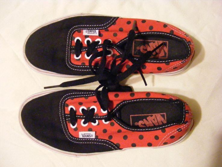 0fbf5c6364 Buy red vans 6.5