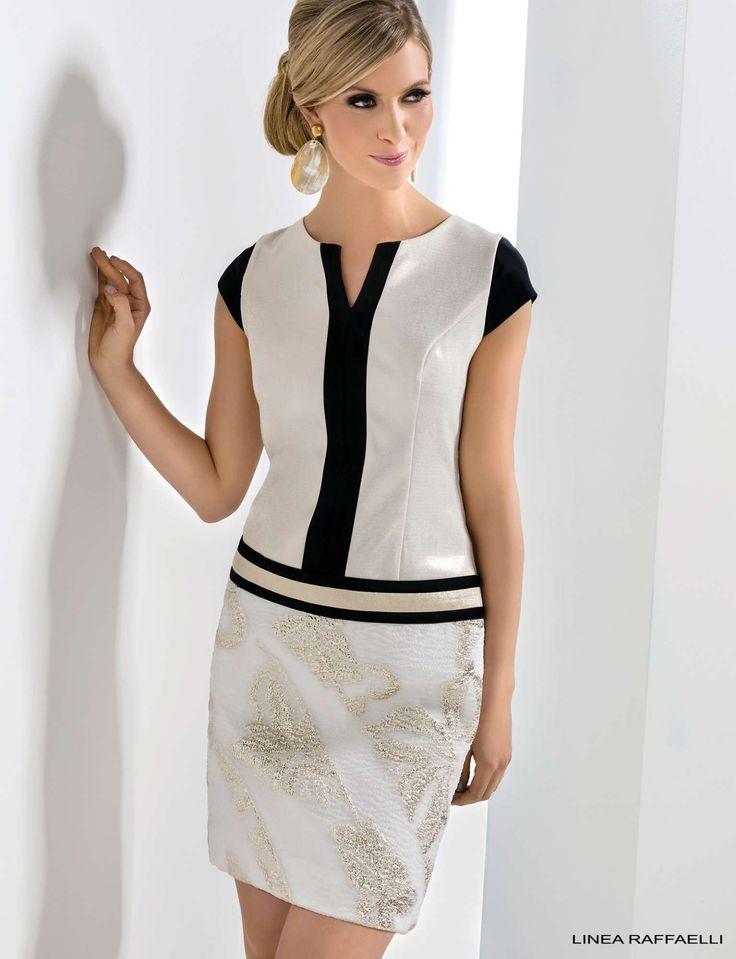 Linea Raffaelli dress 171-797-01 set 110, resort collection 2018