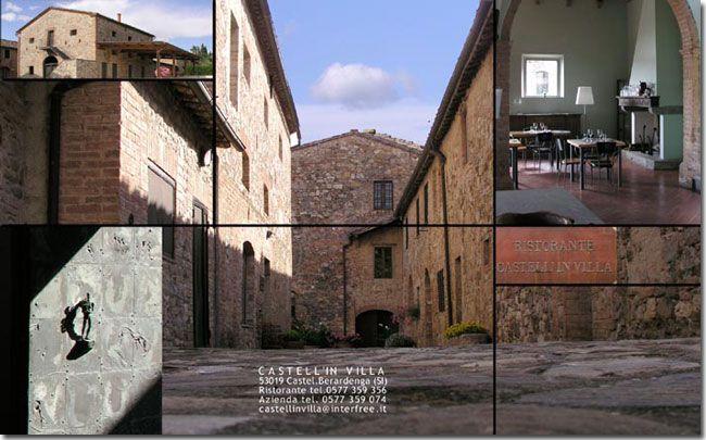 Castell'in Villa Restaurant, Wine, Chianti Classico, Riserva, Santacroce, Poggio delle Rose, Vin Santo