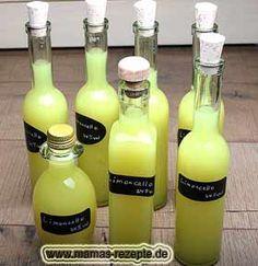 Limoncello selbermachen
